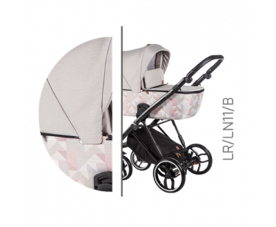 Детская универсальная коляска 2 в 1 Baby Merc La Rosa LR/11B