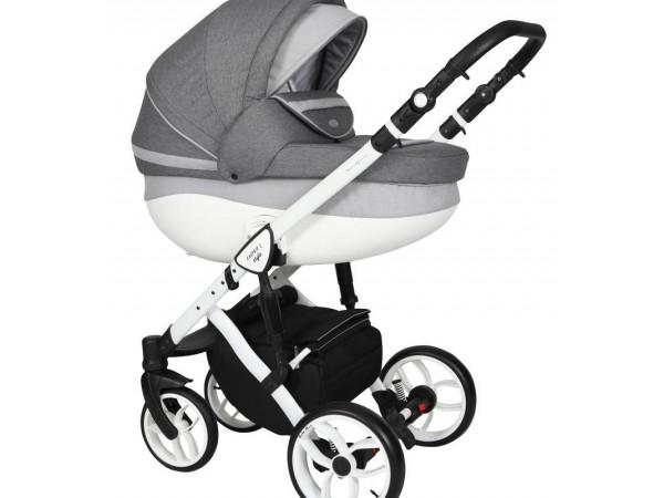 Детская универсальная коляска 2 в 1 Baby Merc Faster Style 2 FII/105C