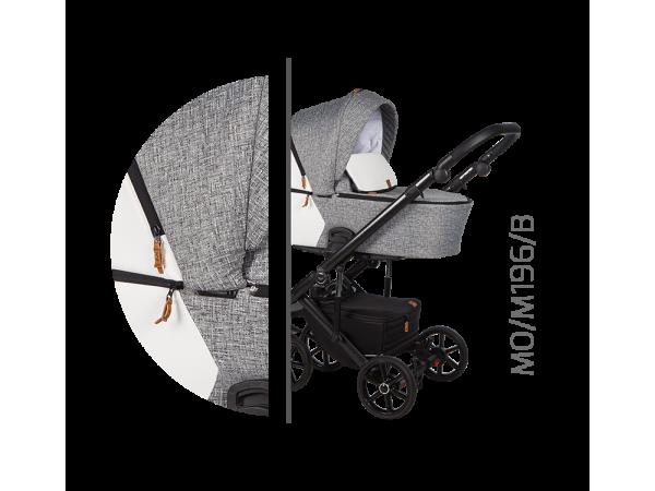Детская универсальная коляска 2 в 1 Baby Merc Mosca MO/196B