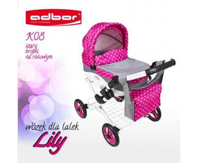 Коляска для кукол Adbor Lily K08