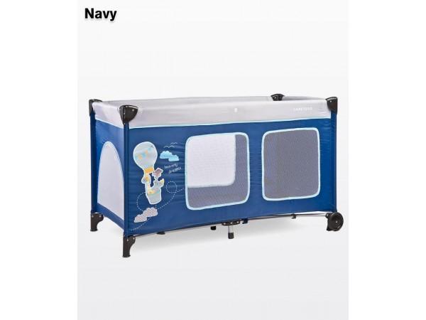 Детский манеж-кровать Simplo Plus navy