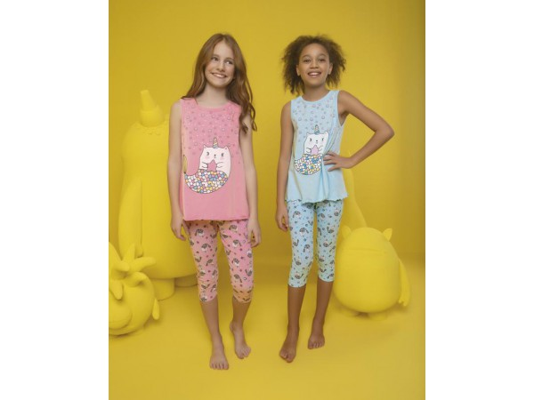 Пижама для девочки Donella арт. 10077