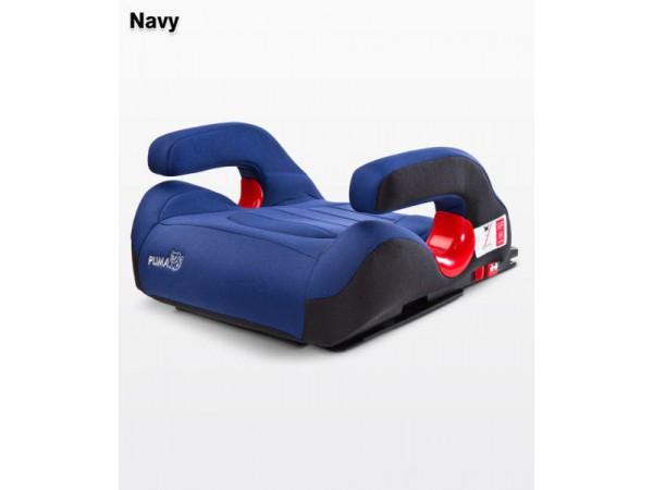 Десткое автокресло-бустер Caretero Puma isofix navy 15-36 кг