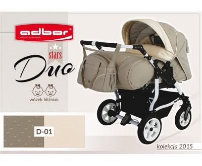 Детская коляска для двойни Adbor Duo stars D 01