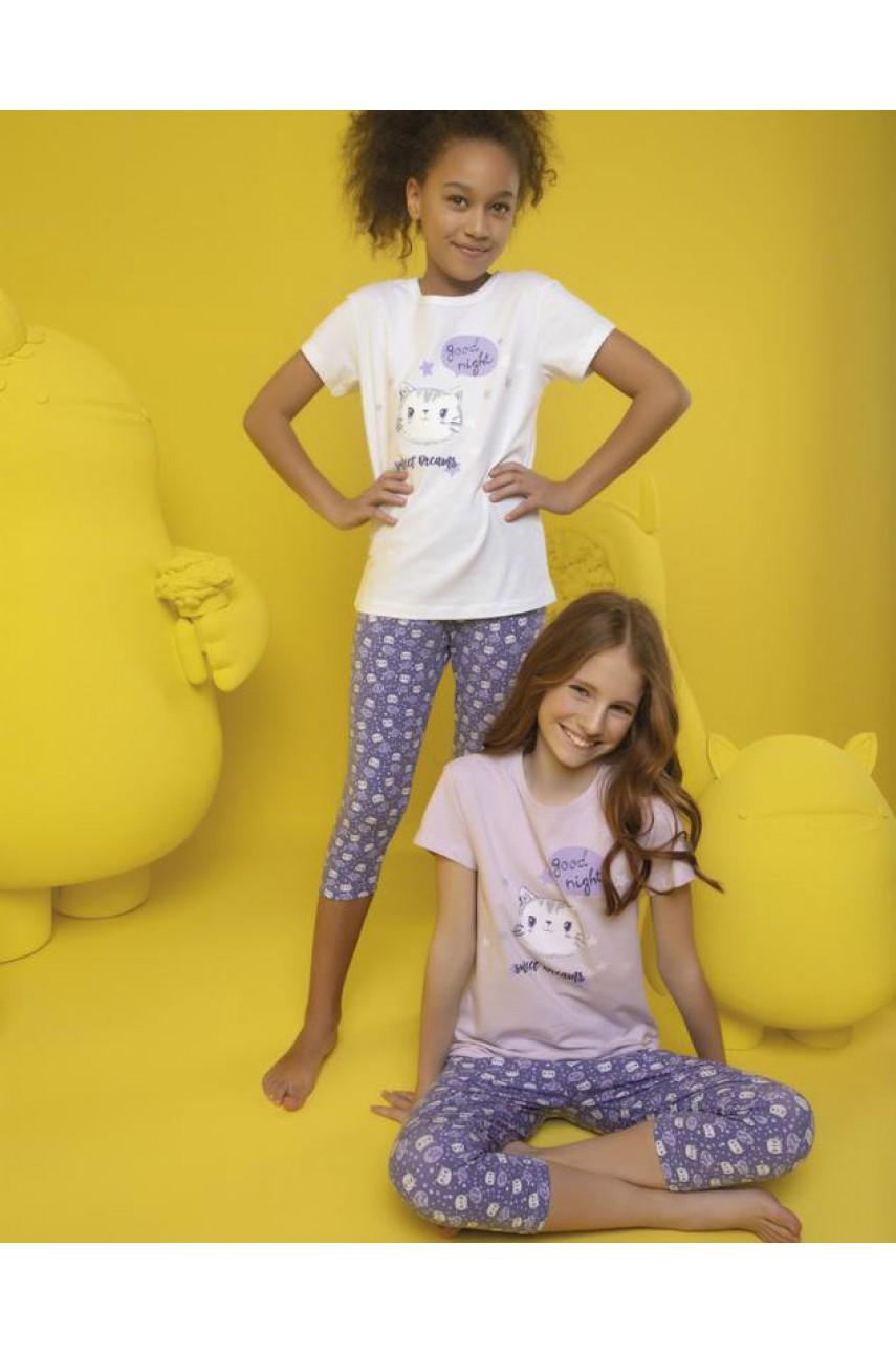 Пижама для девочки Donella арт. 10078