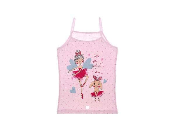 Детские майки для девочек Donella арт. 43416TB