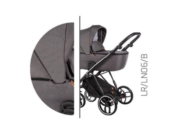 Детская универсальная коляска 2 в 1 Baby Merc La Rosa LR/06B