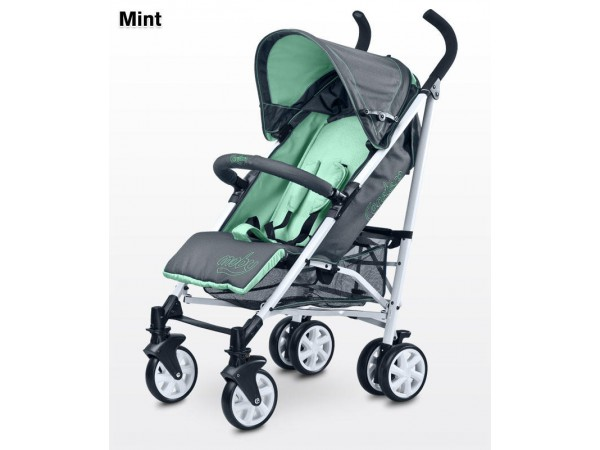 Детская прогулочная коляска Caretero Moby mint