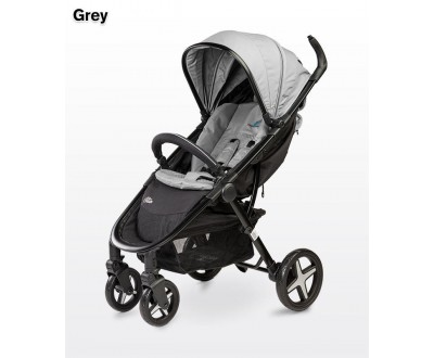 Детская прогулочная коляска Caretero Titan grey