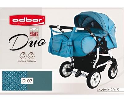 Детская коляска для двойни Adbor Duo stars D-07