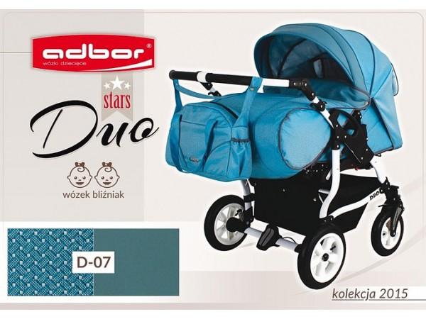 Детская коляска для двойни Adbor Duo stars D 07