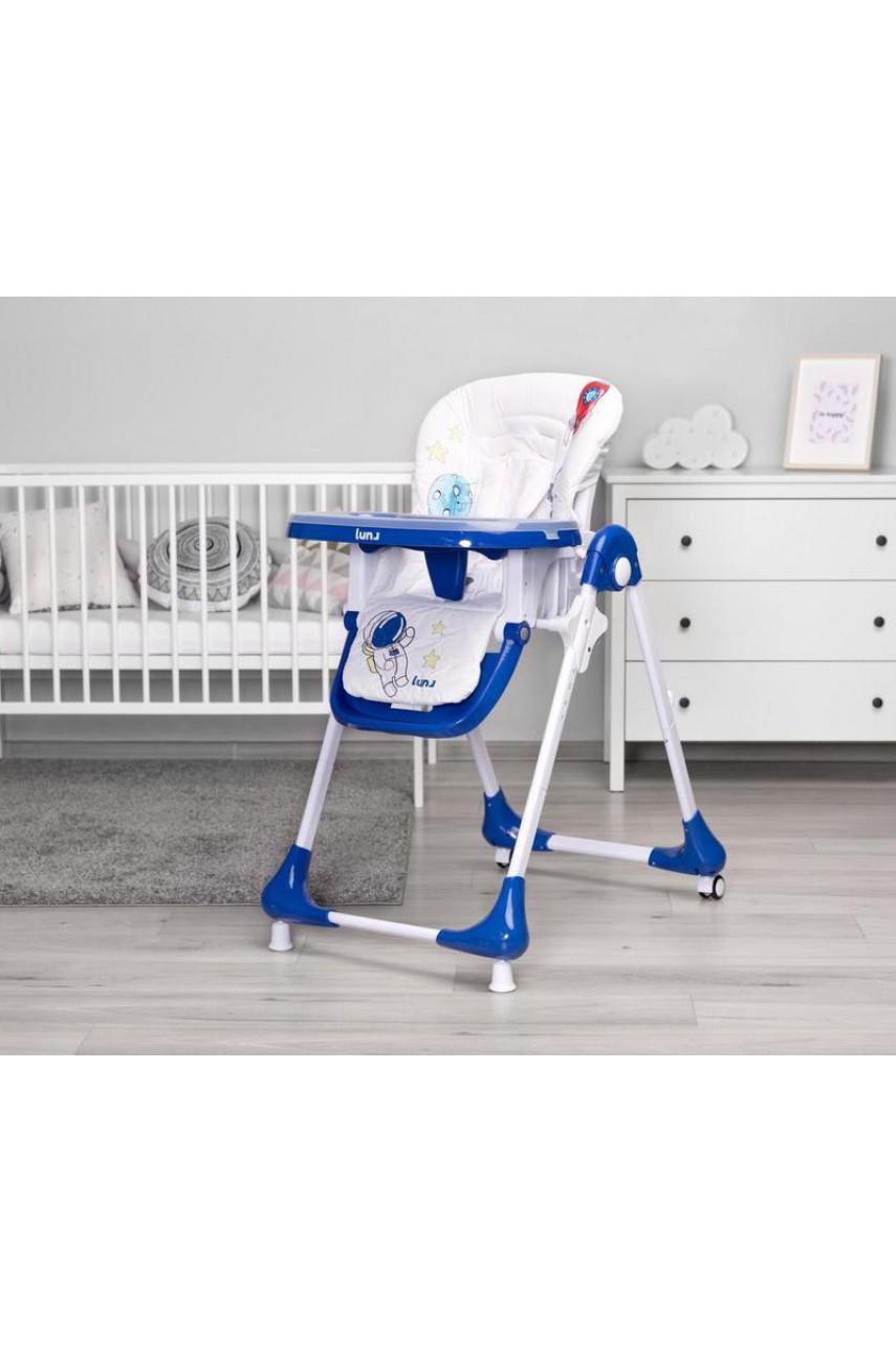 Детский стульчик для кормления Caretero Luna navy
