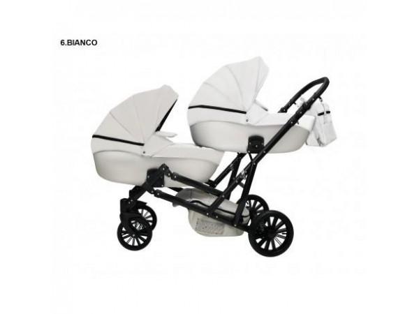 Детская коляска для двойни MIKRUS GEMELLO 06