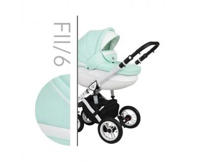 Детская универсальная коляска 2 в 1 Baby Merc Faster Style 2 Fll/6C