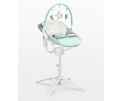 Детская качель, шезлонг, стульчик для кормления Caretero Kivi 3 в 1 blue