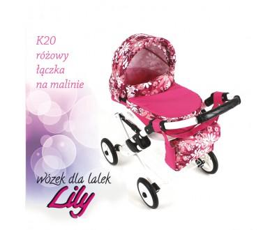 Коляска для кукол Adbor Lily K20