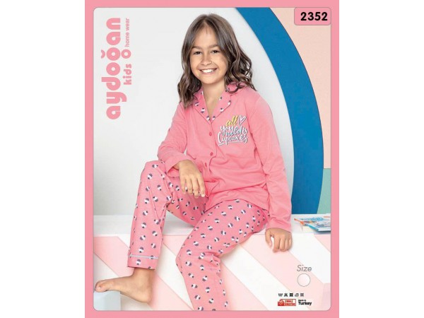Пижама для девочки Aydogan арт. 2352