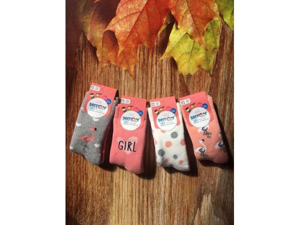Детские носки- махровые для девочки Baykar арт. 7044-12